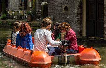 Sloepenrally in Utrecht